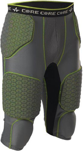 Alleson 7 Padded Integrated Football Girdle Youth XL *** See this great  product.