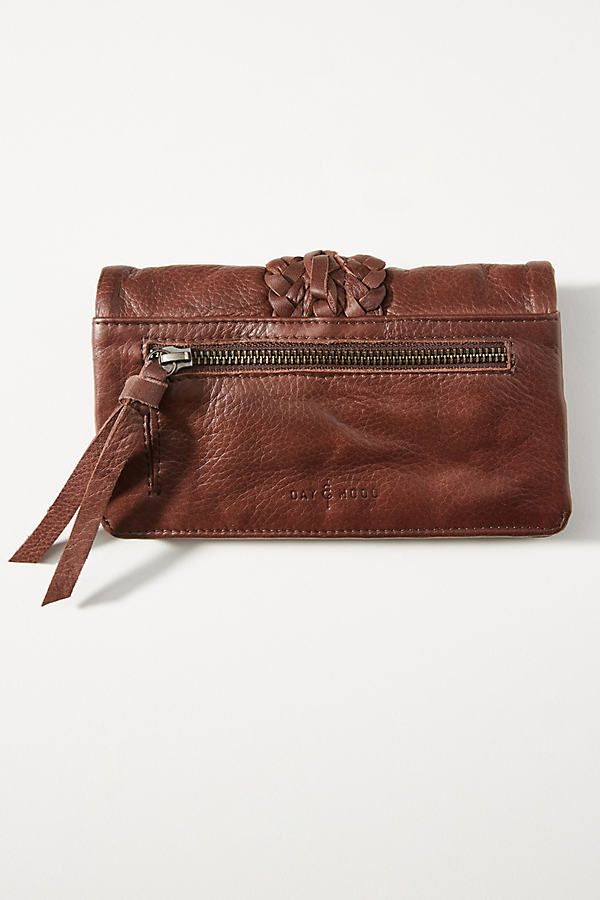 Emma Woven Leather Wallet #leatherwallets