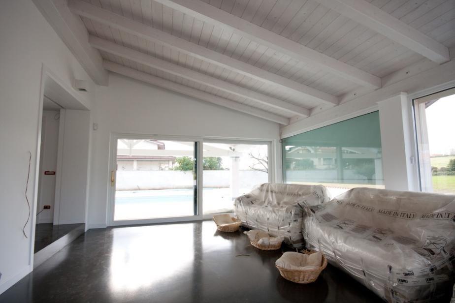 Interni tetto bianco cerca con google casa nuova - Tetto in legno bianco ...