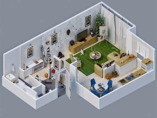 desain rumah sederhana dengan 3 kamar tidur (With images