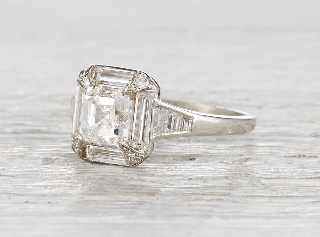 This Ring Is Stunning Art Deco Engagement Rings Nyc