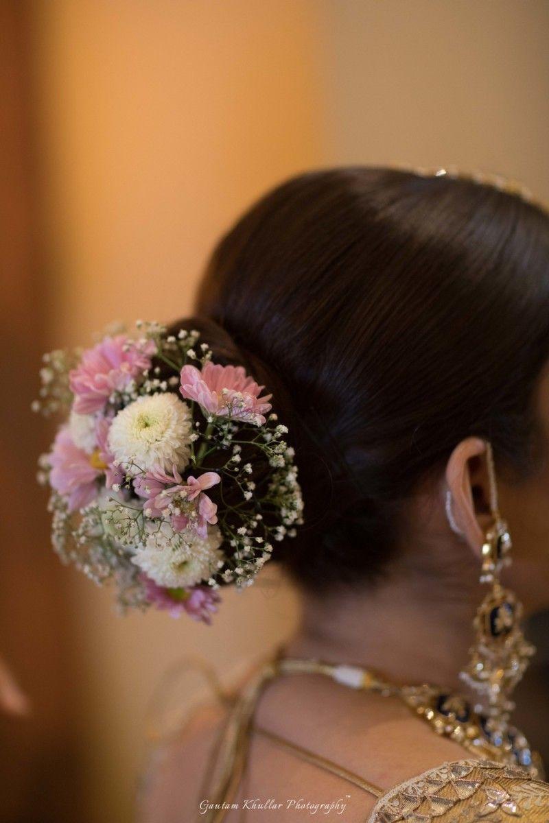 Simrat Simranjeet Thailand Real Wedding Bridal Bun Bridal Hair Buns Bridal Hair
