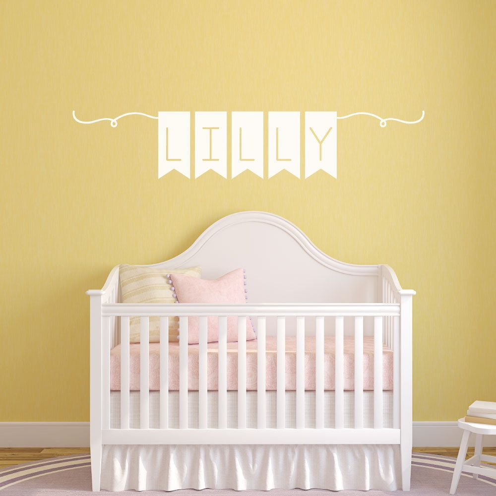 Name Wall Decal - Nursery Wall Decals - Wall Decals for Kids - Wall ...