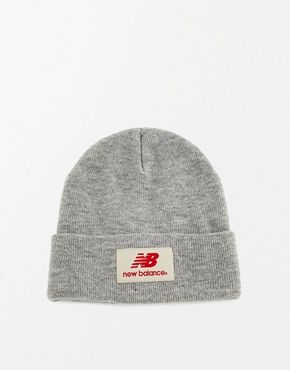 db0dae5a29776 new balance hat 2. New Balance Troy Beanie - light grey Mens Beanie Hats ...