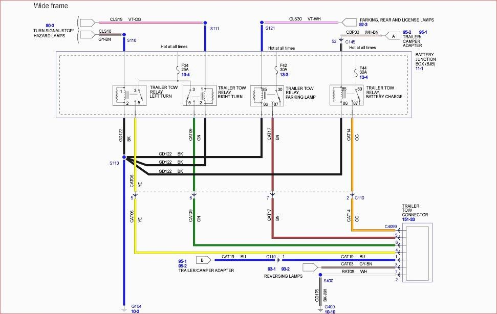 ford f 450 trailer wiring diagram  wiring diagram