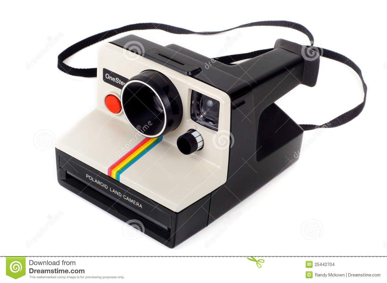 Vintage Polaroid Instant Camera