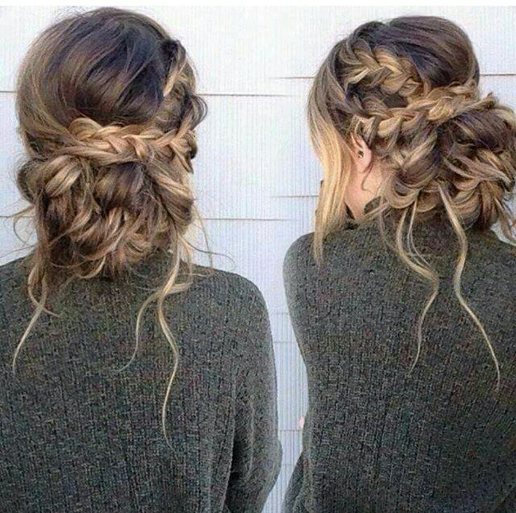How To Hairstyle: The messy braid bun - #messybraids