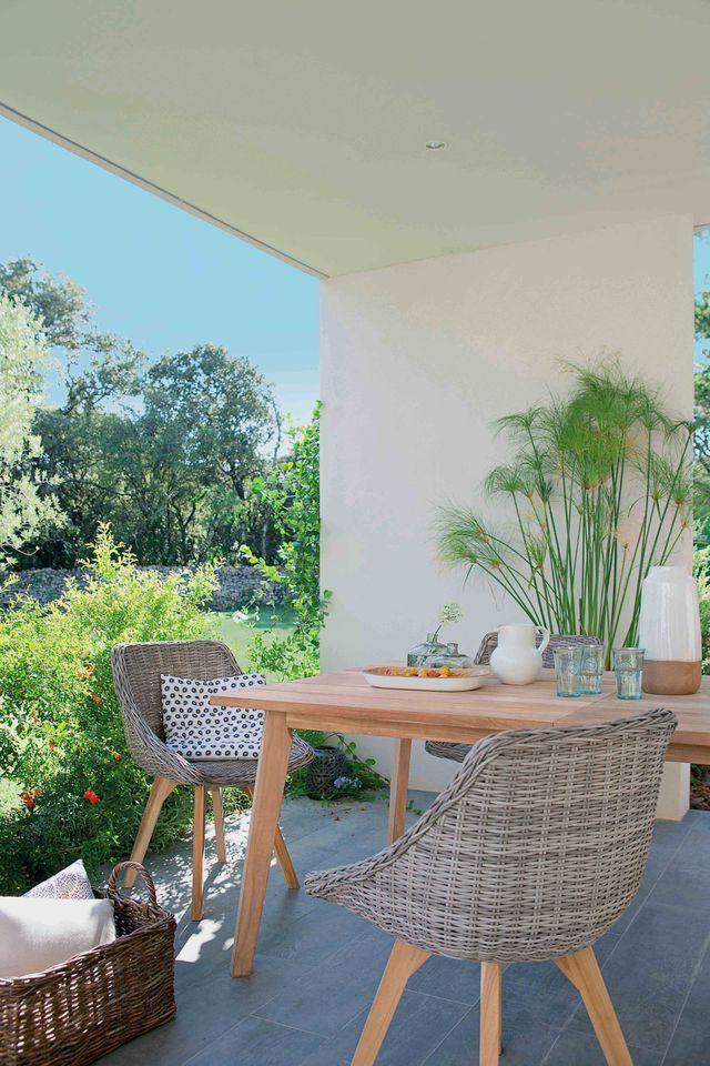 Table rallonge jardin : modèles tendance | Salon Jardin ...