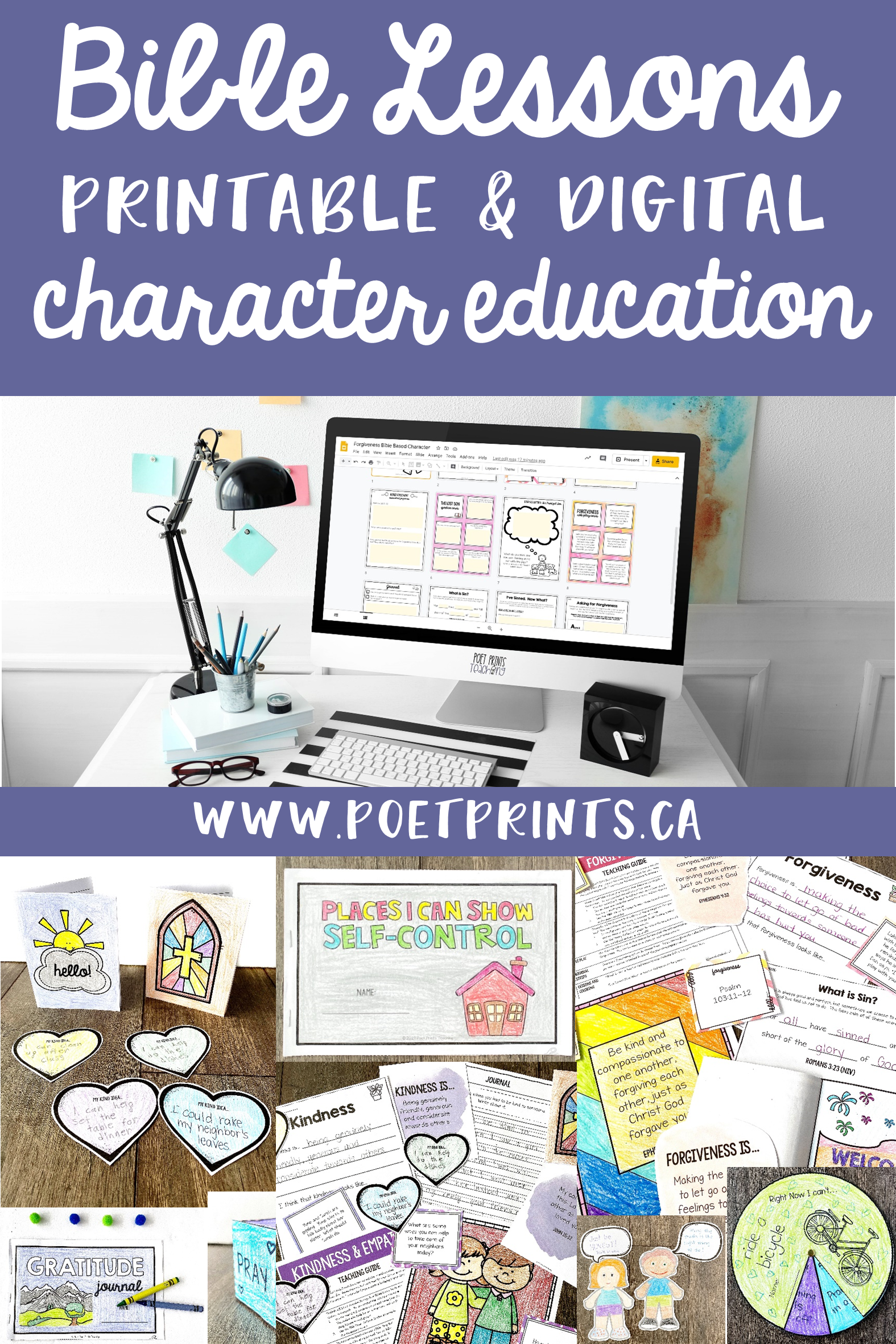 Bible Lessons Character Education Digital And Printable