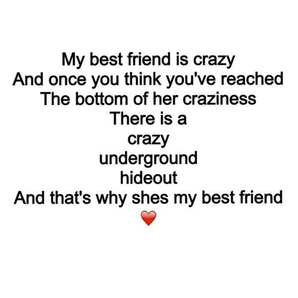 Everyone Needs Crazy Friends! Find This Pin And More On Sheu0027s My Best ...