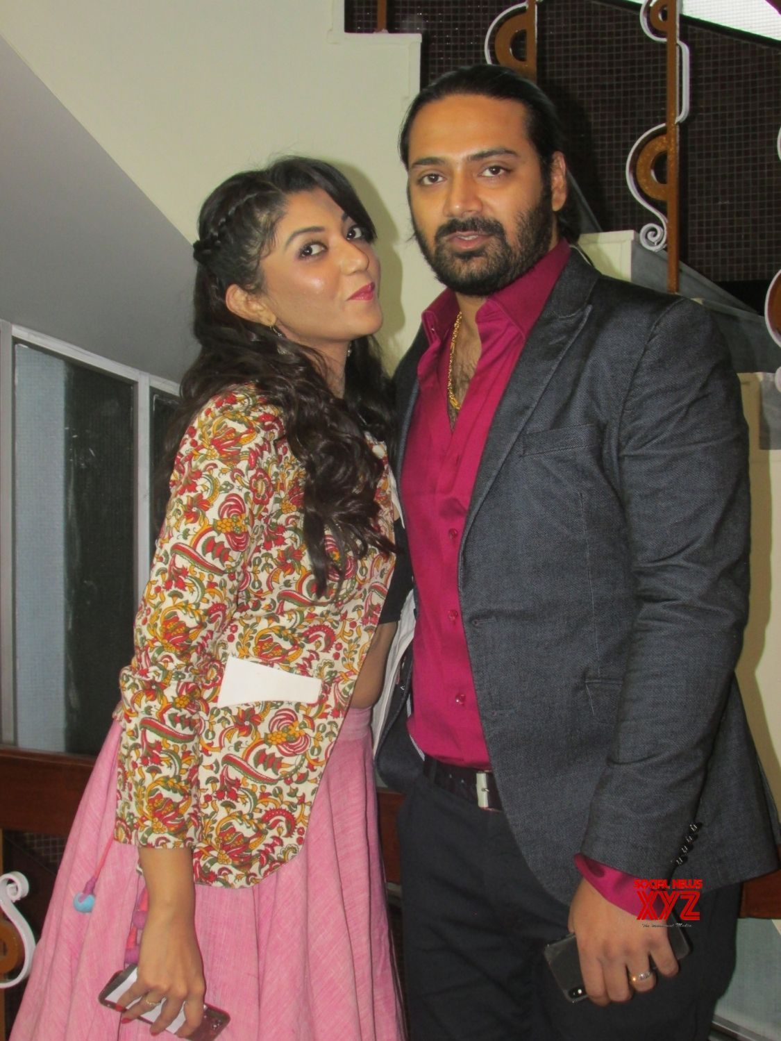 Kolkata: Actors Pratik and Devlina at premiere of Bengali film 'Chol