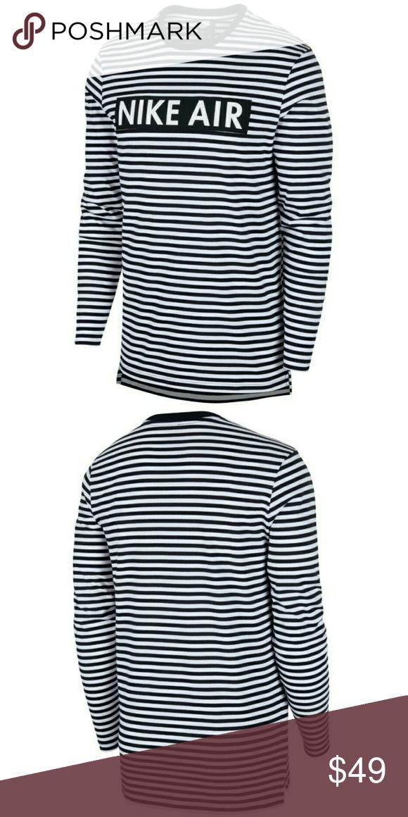Nike Air Striped Long Sleeve Shirt