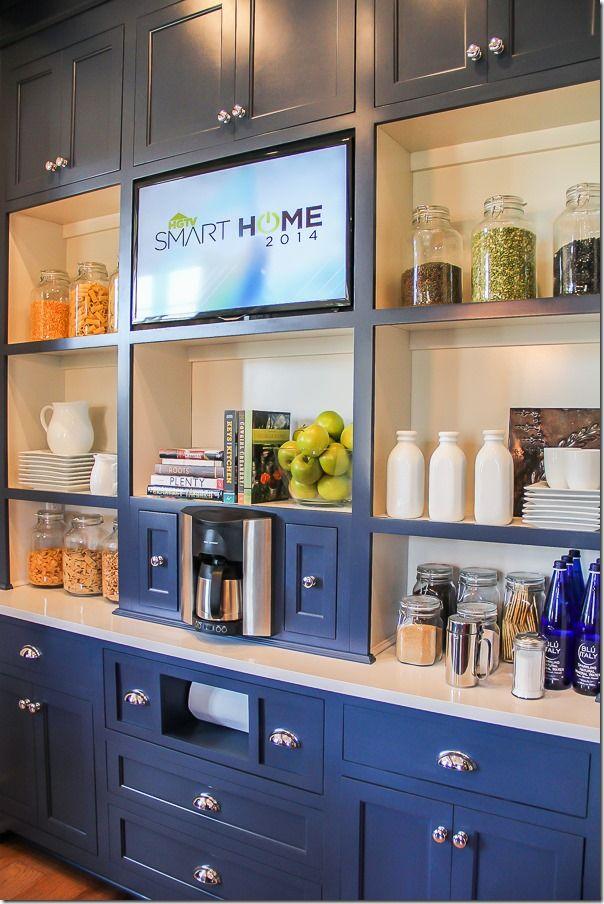 smart tv kitchen unpainted cabinets hgtv home nashville 12 of 36 pinterest
