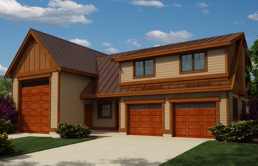 garage House Plan with build cost