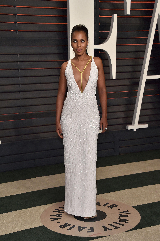 African american designer wedding dresses  Kerry Washington  Kerry washington Celebrity style and Oscar