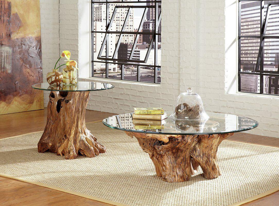 Winooski Root Ball Coffee Table Coffee Table Coffee Table Setting Stump Coffee Table [ 800 x 1084 Pixel ]
