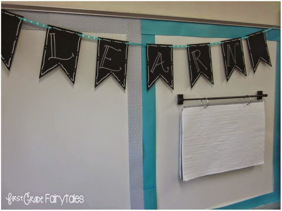 First Grade Fairytales Classroom Tour 2014 Magnetic Curtain