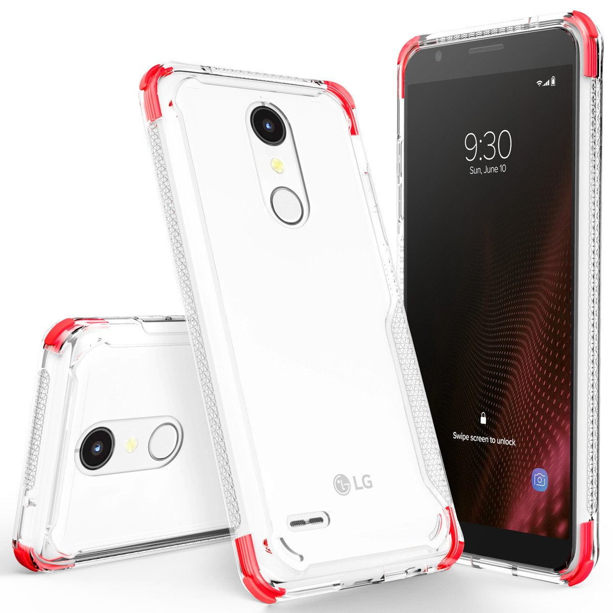 CLICK SURGE LG K30 / Harmony 2 Case - Red in 2019 | Stuff to