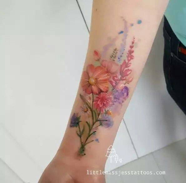 Pin by Tyne Kreber on tattoos | Pinterest | Colorful tattoos and Tattoo