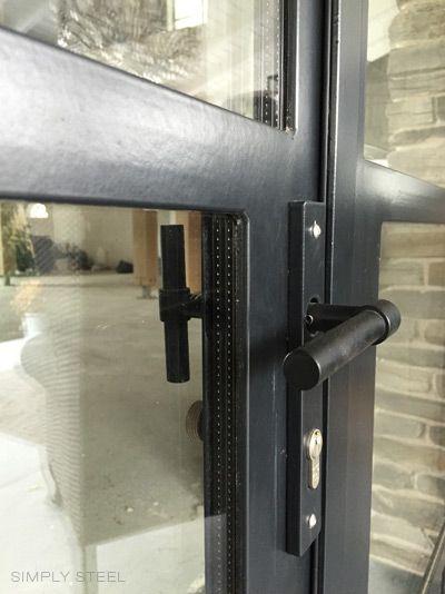 Detail door fitting Formani black