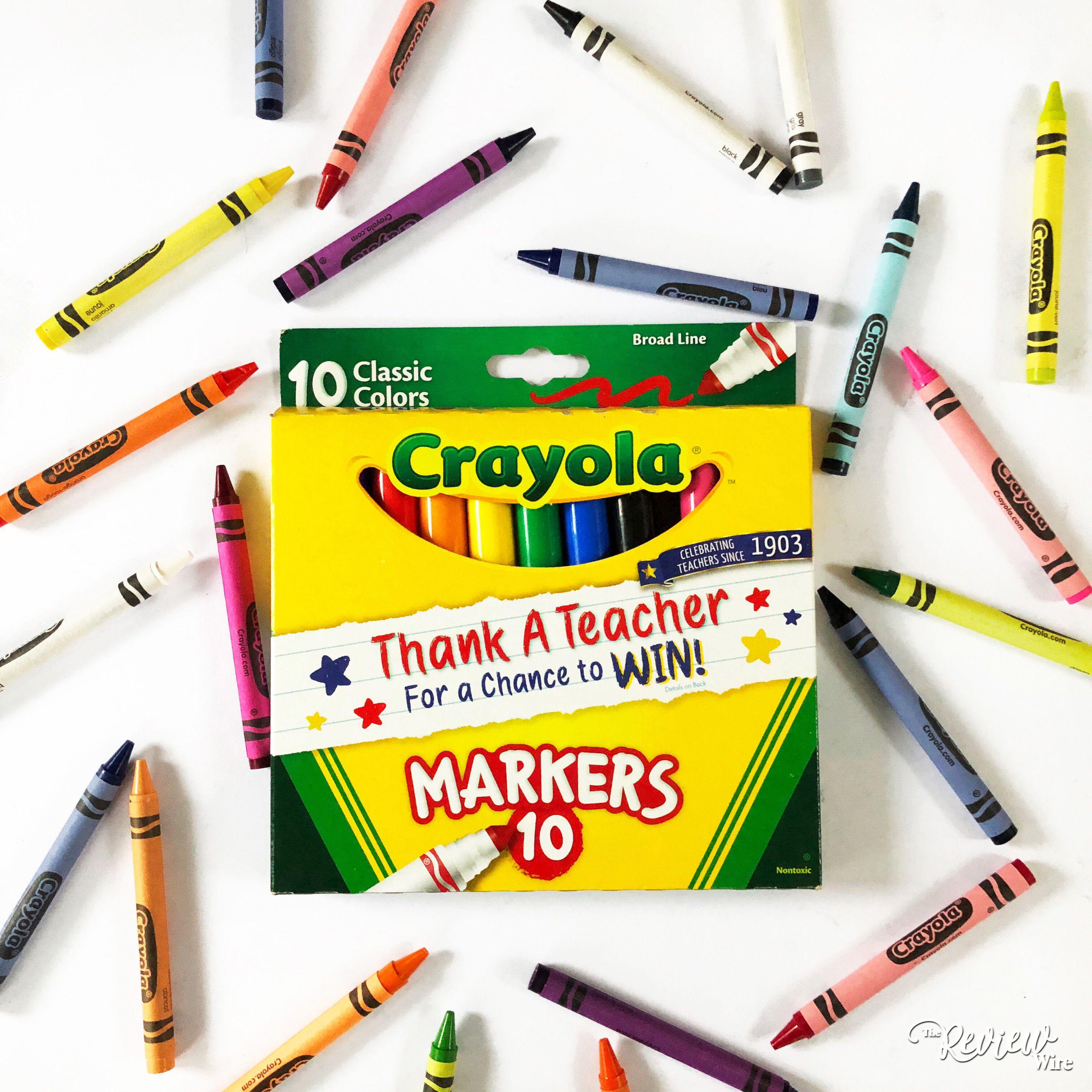 Crayola Thank A Teacher Teacher Back To School School