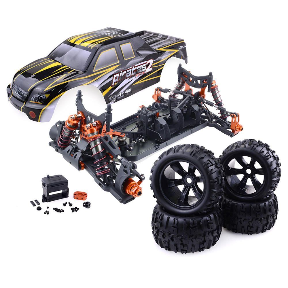 ZD Racing 9116 1/8 4WD Brushless Electric Truck Metal