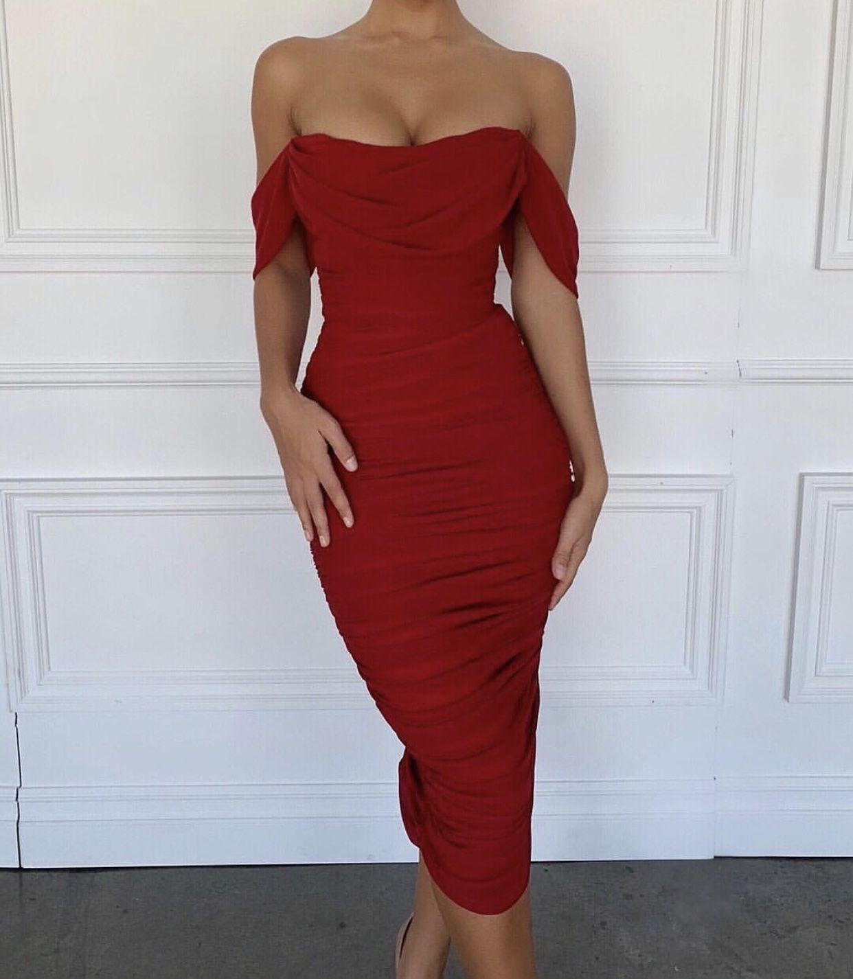 Carlotta Elegant Dresses For Women Red Homecoming Dresses Summer Dresses For Women