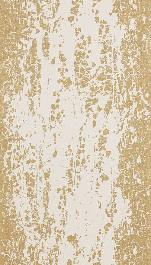 Eglomise Gold by Harlequin Gold / Cream Wallpaper
