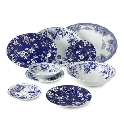 French Blue Bouquet Dinnerware Collection  sc 1 st  Pinterest : sonoma dinnerware - pezcame.com