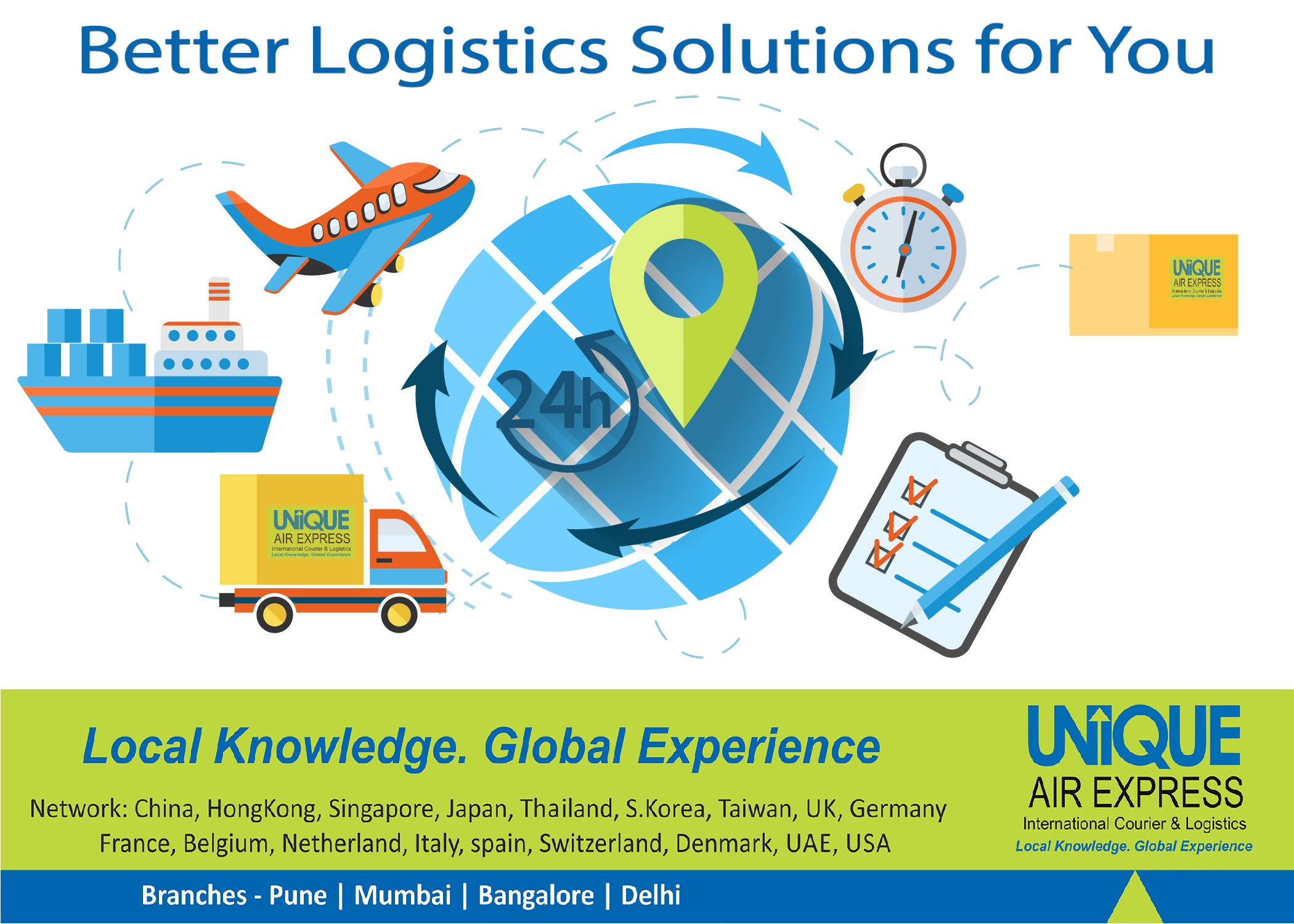 Better Logistics Solutions for You! International