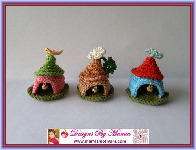 Crochet Gnome House Pattern