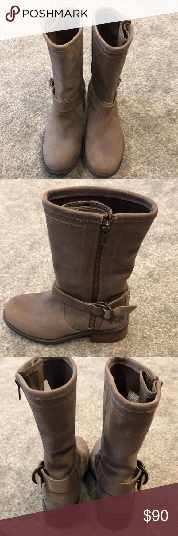 NEW UGG Silva Zip Boot New without box