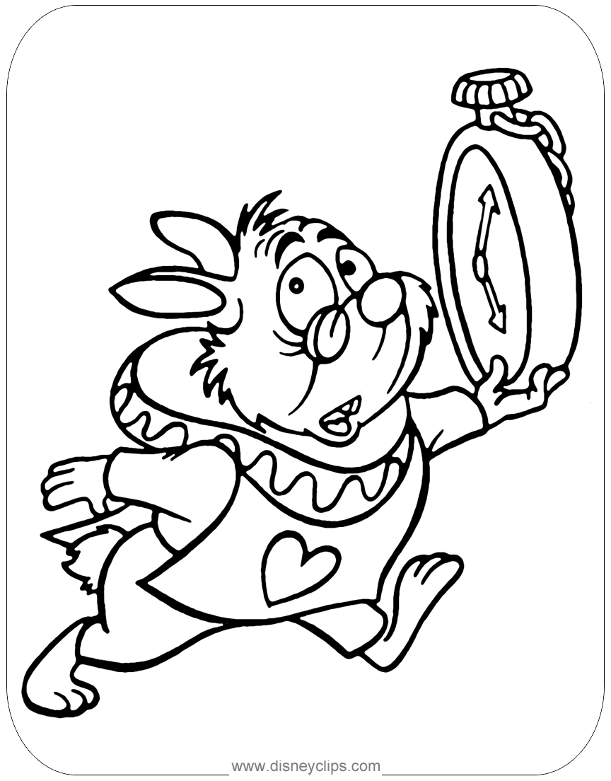 The White Rabbit Clip Art From Alice In Wonderland Aliceinwonderland W Alice In Wonderland Drawings Alice And Wonderland Tattoos Alice In Wonderland Cartoon [ 1104 x 864 Pixel ]