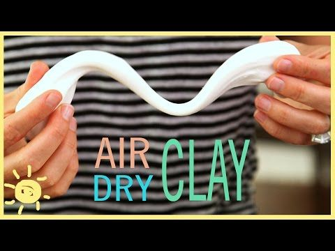 Learn How to Make Super Fun Air Dry Clay for Your Kids - DIY & Crafts
