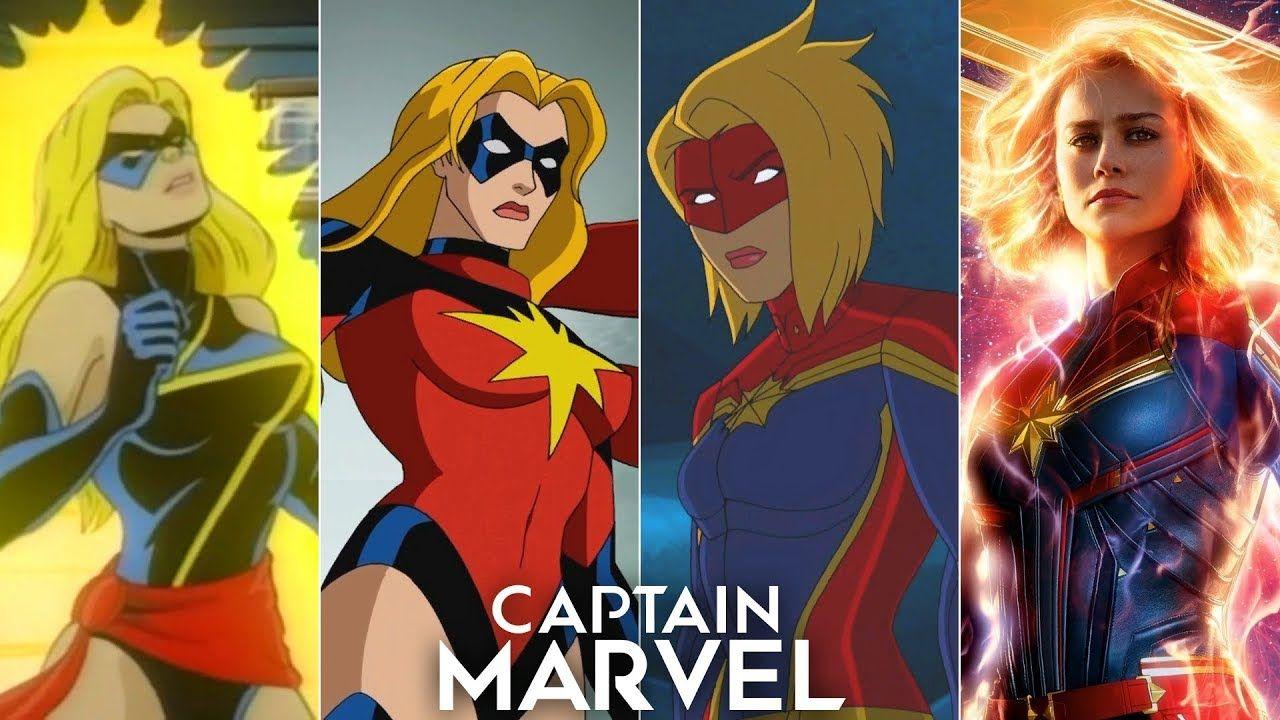 Evolution Of Captain Marvel Carol Danvers In Movies And Cartoons Captain Marvel Carol Danvers Captain Marvel Silver Age Comics Let's take a look at the evolution of her style. captain marvel carol danvers
