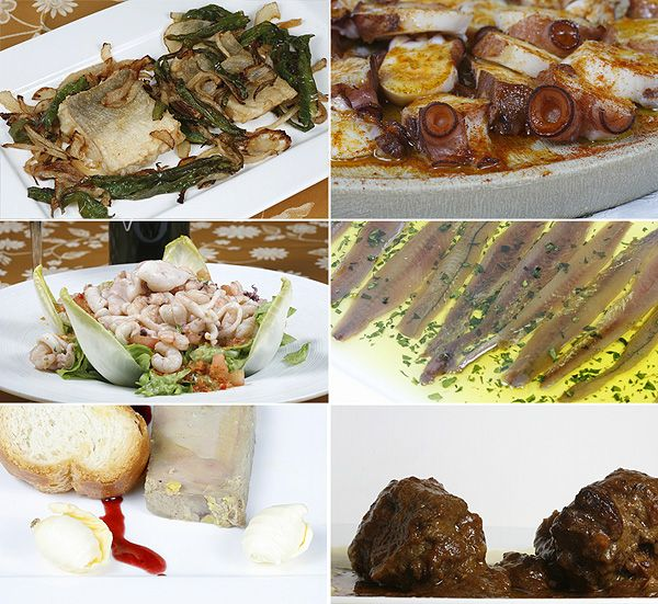 Reportaje fotográfico, platos culinarios del restaurante Pastorkua en Azpeitia.