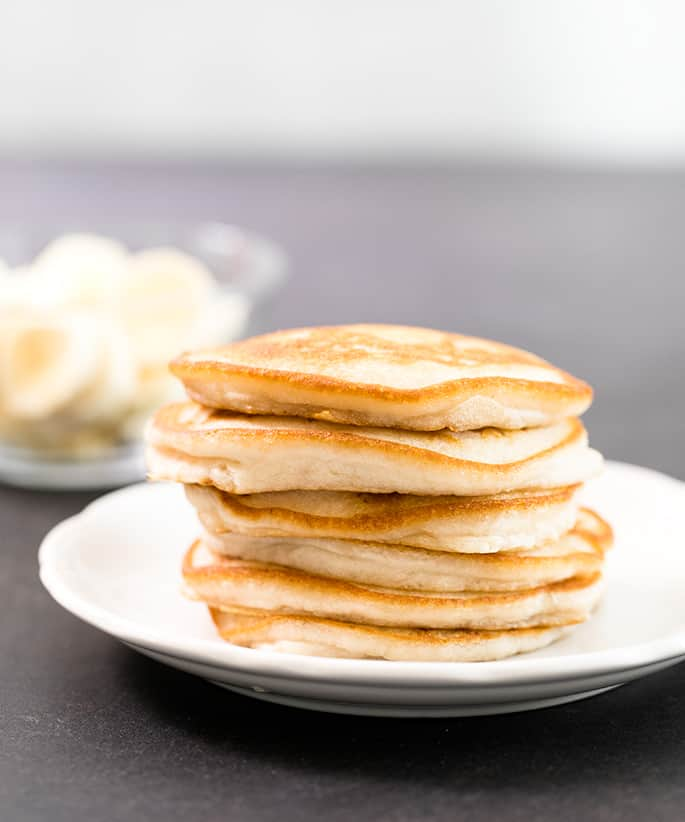 The Best Vegan Pancakes Recipe In 2020 Vegan Pancake Recipes Pancake Recipe Best Vegan Pancakes