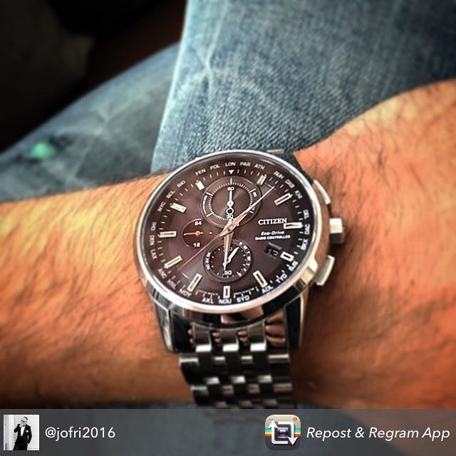 #citizenloves this picture of our #ecodrive World Chronograph A.T AT8110-53E shared by @jofri2016 #fashion #menswatch #watches #mensstyle by citizenwatch
