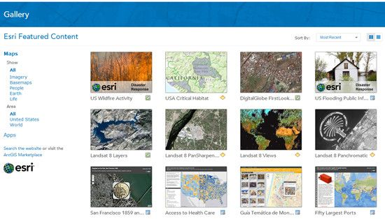 Using and Customizing the new Gallery | ArcGIS Blog