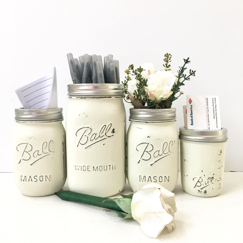 Mason Jar Vase Rustic Jars