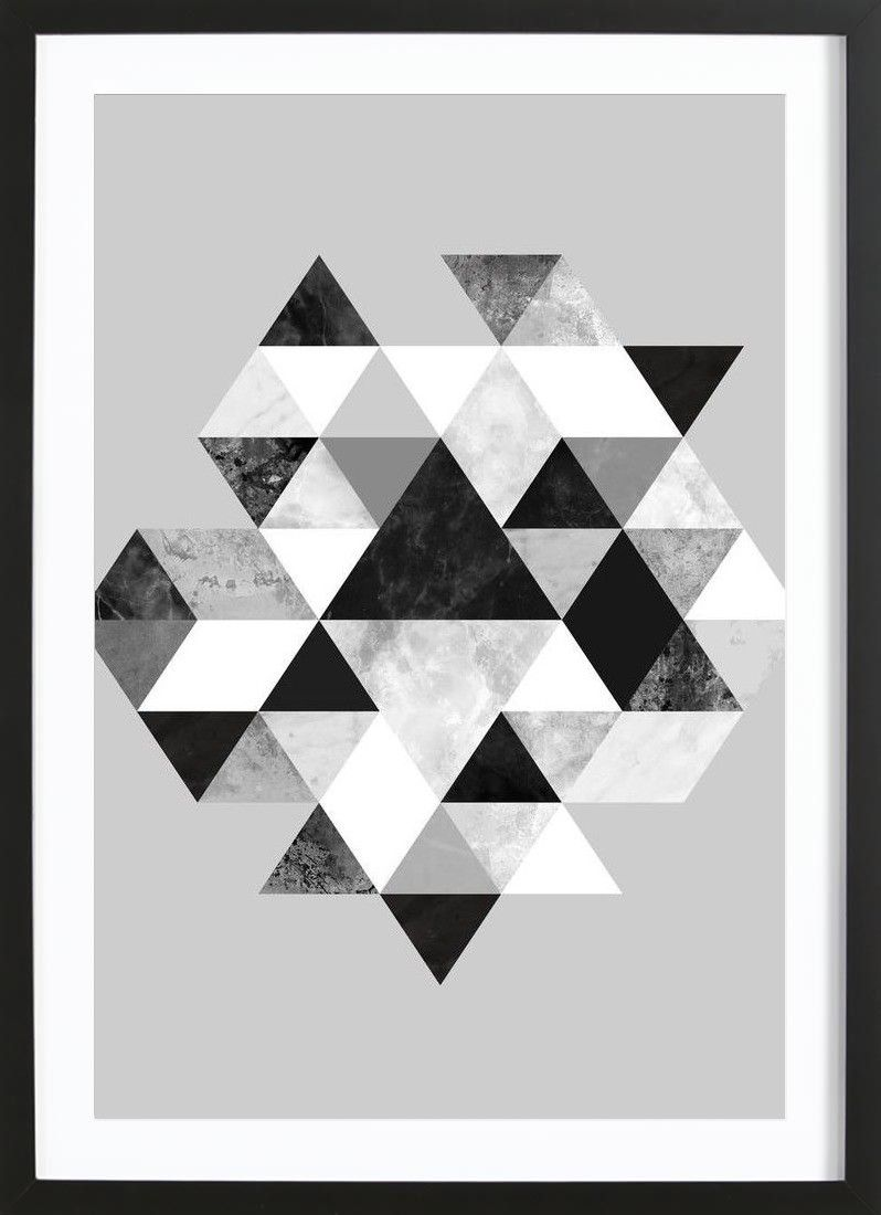 Poster Gerahmt Graphic 202 Bw Arty Farty Pinterest Wooden Frames