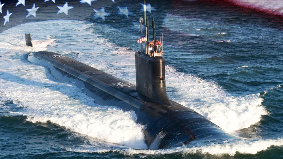 Newest US Navy submarine USS South Dakota Inside the 2.6