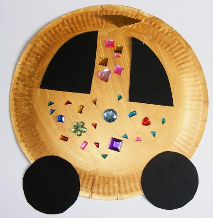 Golden coach craft it 39 s good to be a kid pinterest for Fairy crafts for toddlers