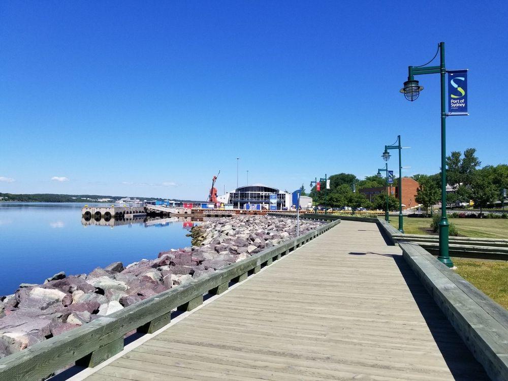 Waterfront District in Sydney, Nova Scotia (Where Gumbo ...