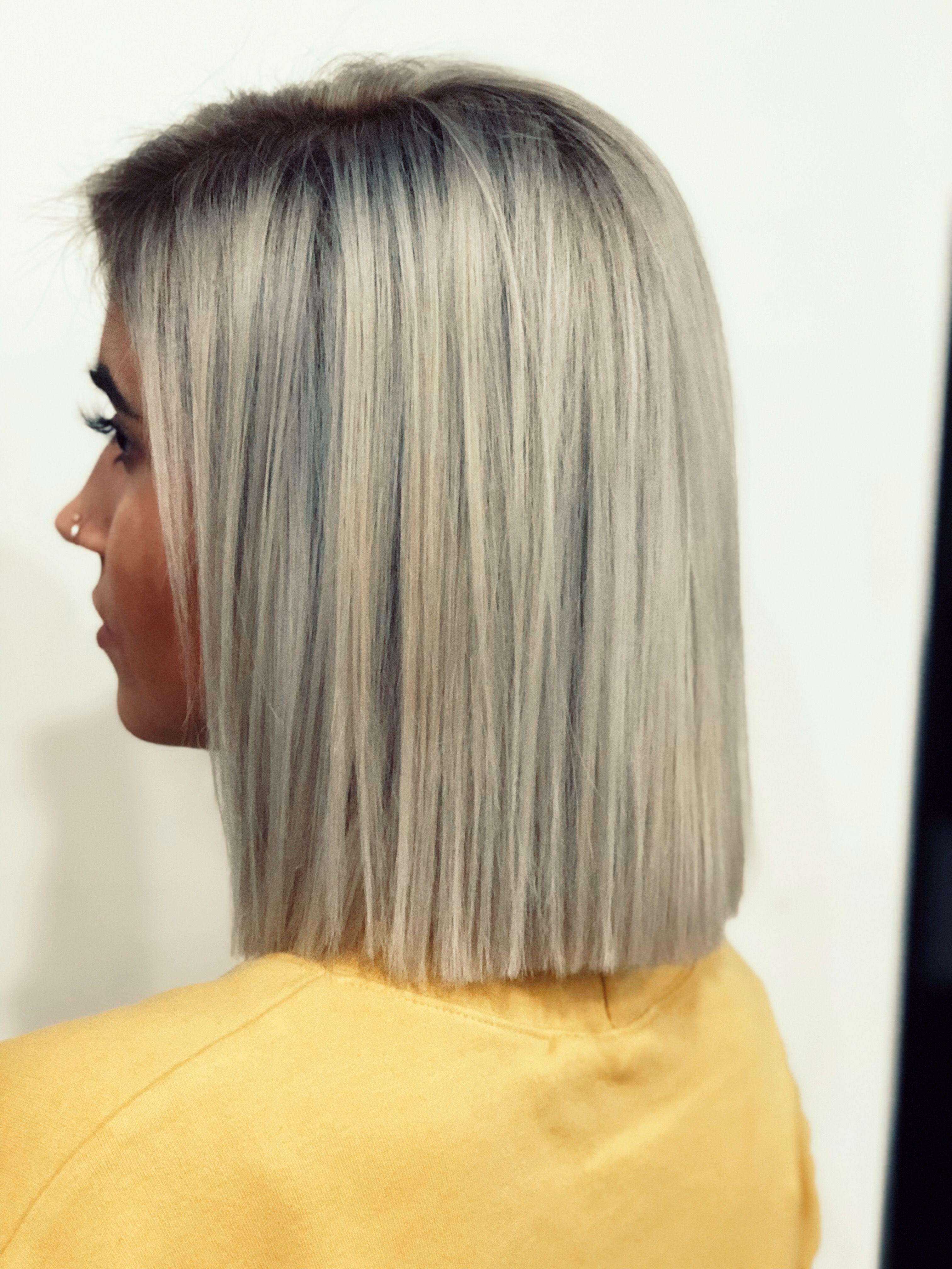 Cool Blonde Hair Instagram At Kavakeeks Fryzury W 2019