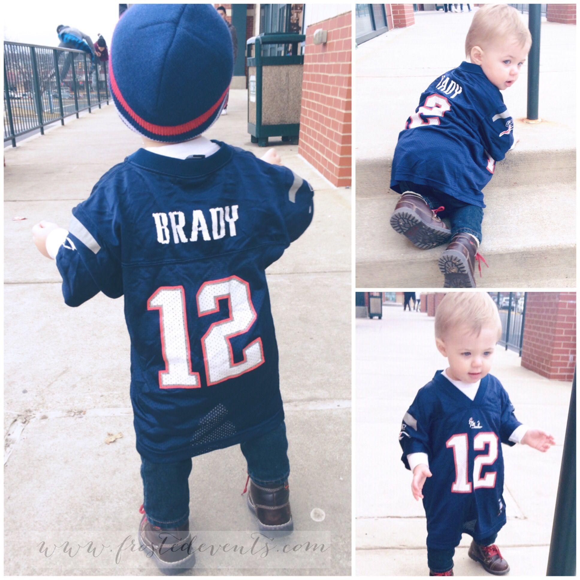 child tom brady jersey