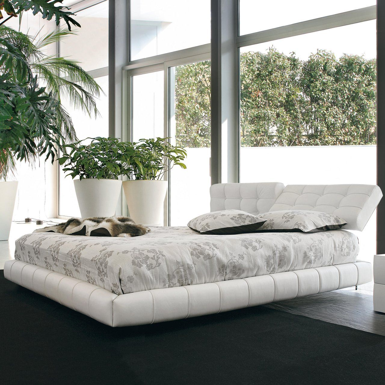 Cloud Bed Capitonne Fancy Bed Tufted Bed Bed