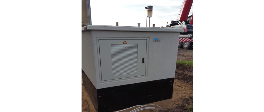 Concrete transformer stations as complete solution for