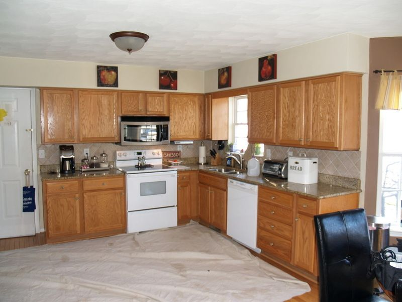 How to Reface Your Old Kitchen Cabinets 308-Kitchen Pinterest