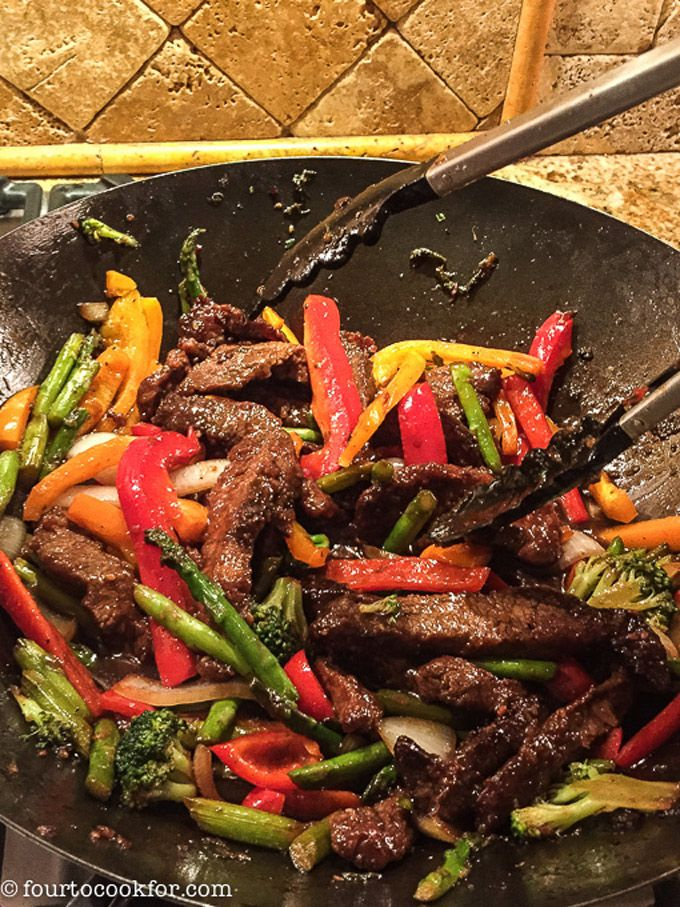 Photo of Beef Stir Fry – Four to Cook For